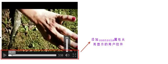 使用video标签添加的视频播放器